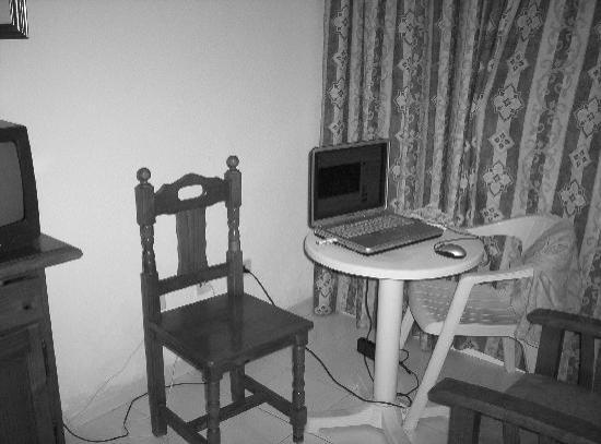 Aparthotel Oasis Tropical: las sillas