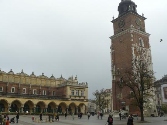 ตลาดนัดรีเน็ค โกลนี่: Cracovie novembre 2007