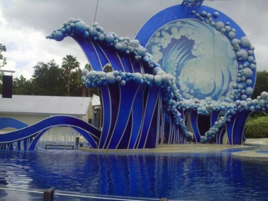 ยูนิเวอร์ซัล ออร์แลนโด รีสอร์ท: dolphin and whale theatre