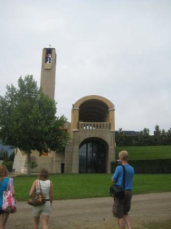 Mission Hill Family Estate Winery: The Bell Tower and entry to the private dining room