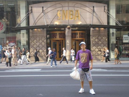 NBA Store: Nueva York, Nueva York, Estados Unidos