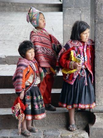 อูรูบัมบา, เปรู: In Cuzco - wir sind gerade zu einem Inkafest in der Stadt angekommen