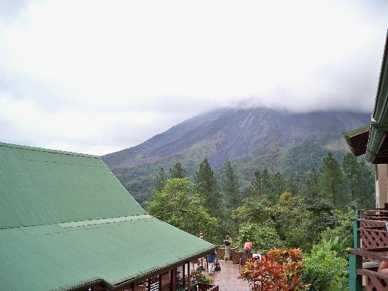Arenal Observatory Lodge & Spa: View from our balcony.