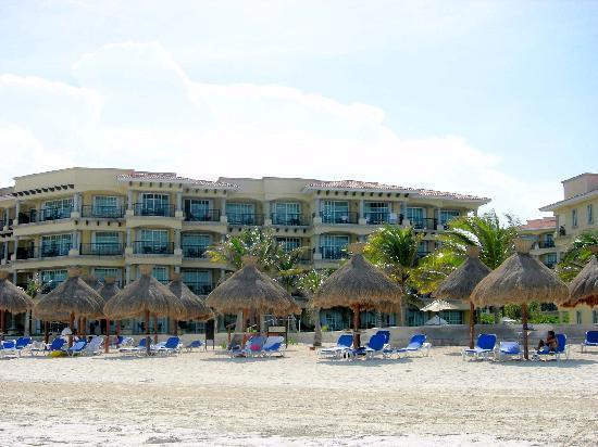 Hotel Marina El Cid Spa & Beach Resort: View from the beach