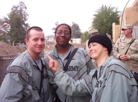 Ramadi, อิรัก: Bowman, Speight, and Me