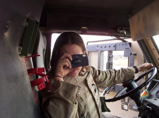 Ramadi, อิรัก: Sal and I dueling cameras