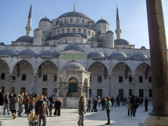 Image result for istanbul plava dzamija