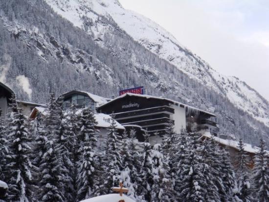 Hotel Madlein : das Pascha immer im Blick