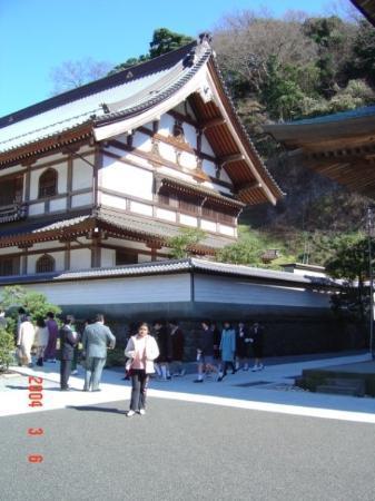 คามากุระ, ญี่ปุ่น: Temple in Kamakura,