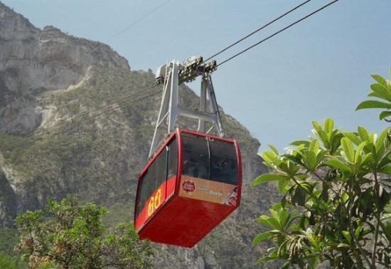 El teleférico. - Picture of Grutas de Garcia, Monterrey - TripAdvisor