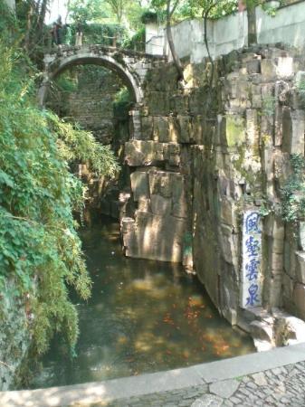 เนินเสือ: 虎丘-剑池(Je sais pas comment traduire en francais...peut-etre:étang de épée?-_-|||)Jardin Huqiu-Suz