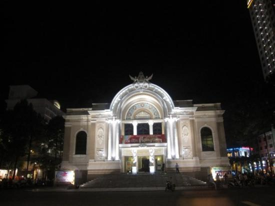 Saigon Opera House (Ho Chi Minh Municipal Theater): Municipal Opera House at Lam Son Square  Loc : HCM City, VN