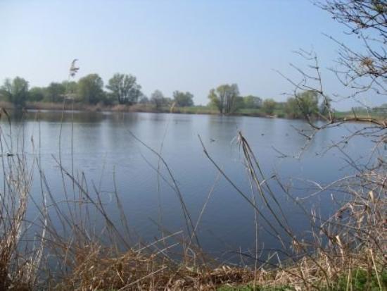Aken, Alemania: der Rußteich  (Lake Smut)