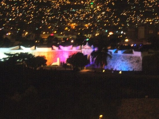 Old Spanish Fort: Acapulco For all lit up