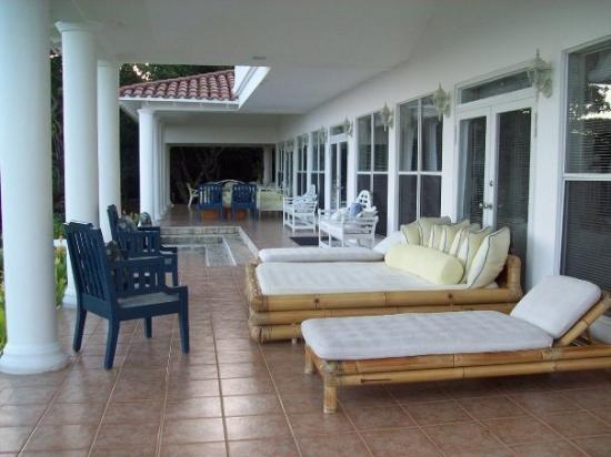 Roatan Honduras Terrace At Coco Beach