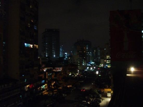 Hotel Continental: Luanda at night. Angola
