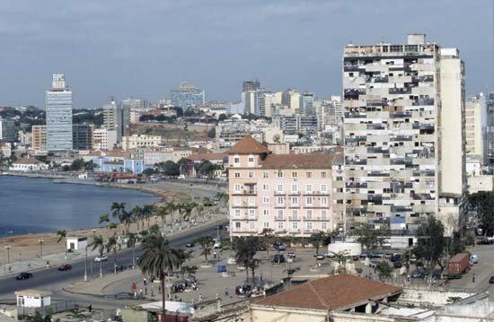 Hotel Continental: Luanda. Angola