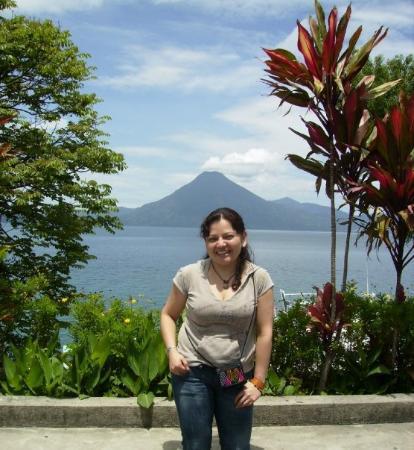 Panajachel, กัวเตมาลา: Paisaje de ensueño
