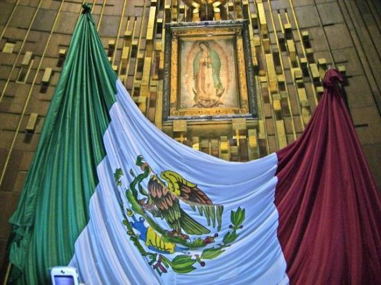 Basilica de Santa Maria de Guadalupe: Virgen de Guadalupe