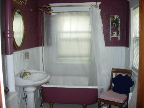 Whistle Stop B & B: Northern Pacific-bathroom