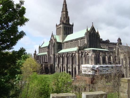 Glasgow Cathedral ภาพถ่าย