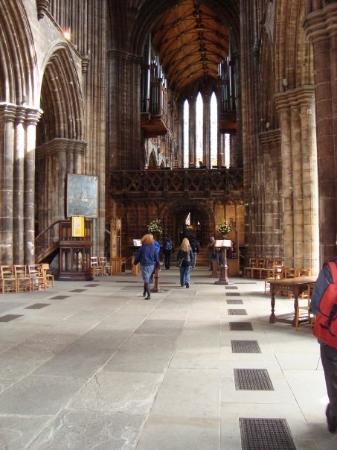 Glasgow Cathedral: Katedralen var fin.