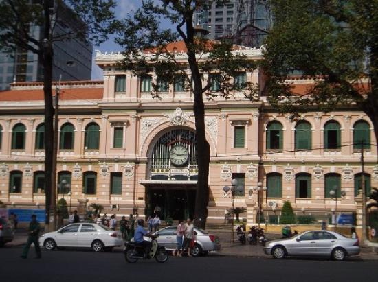 ไปรษณีย์กลาง: Municapal Post Office in Ho Chi Minh City