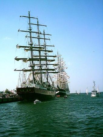รอสต็อก, เยอรมนี: Hanse Sail en Rostock.