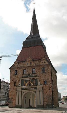 รอสต็อก, เยอรมนี: Steintor en Rostock.