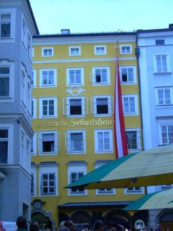 Mozart's Birthplace: Salzburg Austria Mozarts birth house