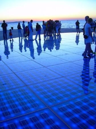 ซาดาร์, โครเอเชีย: Zadar Croatia 'Greeting to the sun'