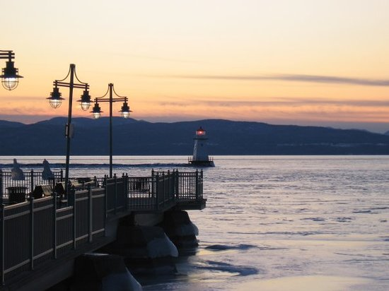 Lake Champlain in Burlington