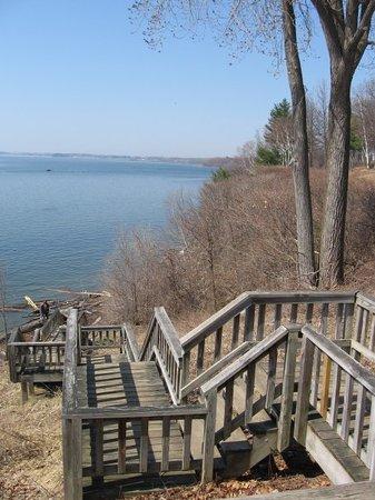 Берлингтон, Вермонт: Balade en roller au bord du lac Champlain