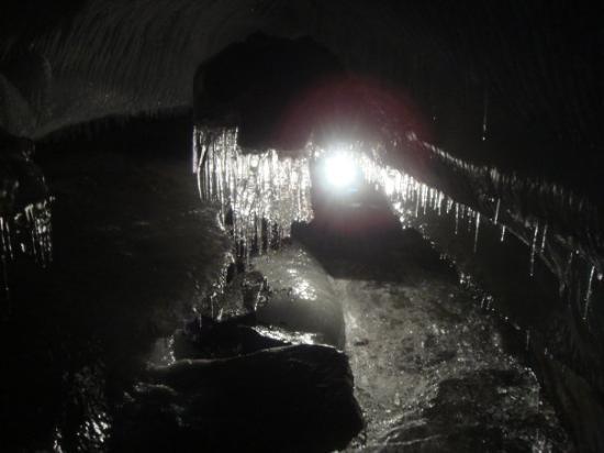 Longyearbyen, Norvège : Gletscherhöhle