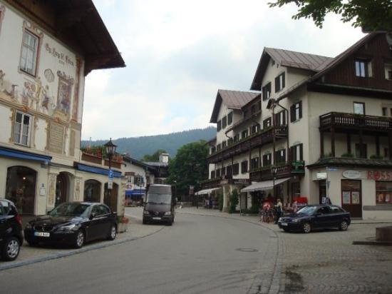 Castillos de Baviera, Oberammergau, 2009.