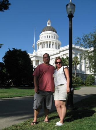 แซคราเมนโต, แคลิฟอร์เนีย: Capitol Sacramento, California Julio, 2009