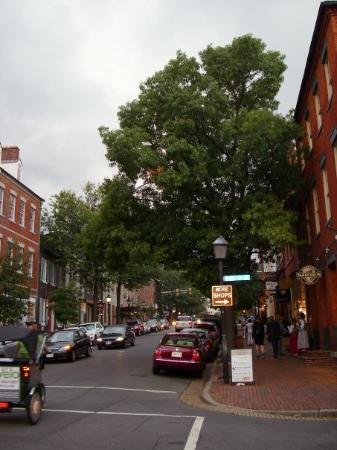 อะเล็กซานเดรีย, เวอร์จิเนีย: King Street, Old Town, Alexandria, Washington DC