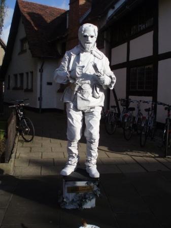 Stratford-upon-Avon, UK: שייקספיר??