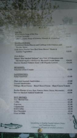 Lisdoonvarna, Irland: good food!