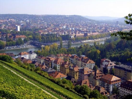 วอร์ซบูร์ก , เยอรมนี: Wurzburg, Bavaria, Germany