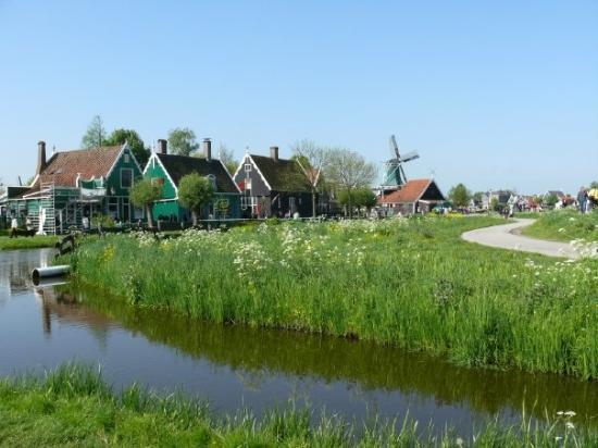 ซานดัม, เนเธอร์แลนด์: Il paese die mulini a vento.