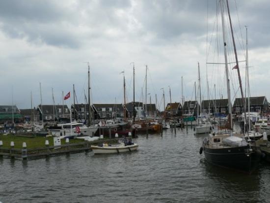 Il caratatteristico villaggio di pescatore di Marken, anticamente sede di cacciatori di balene,