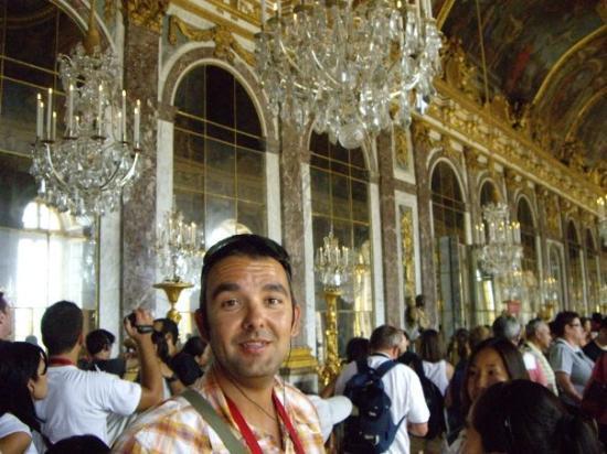 Salon de los espejos versalles fotograf a de palacio de for Salon los espejos