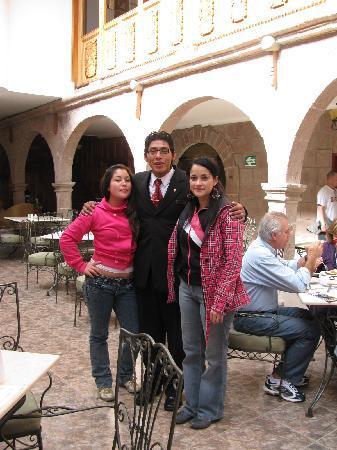 Terra Andina Colonial Mansion : junto al amigo alan