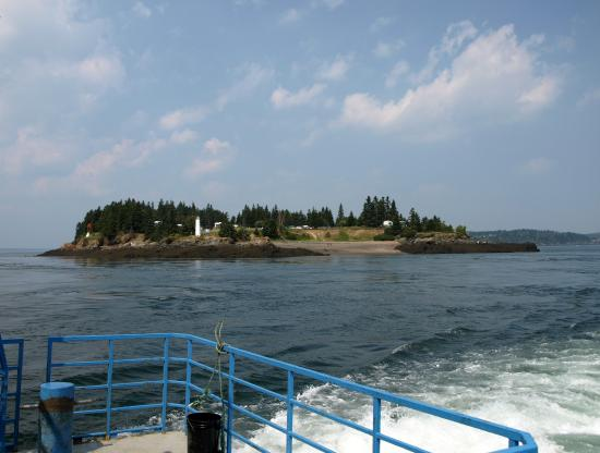 Deer Island Point Park Campground: Deer Island Viewed From The Ferry To Campobello