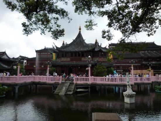Shanghái, China: Shanghai, Cina Casa del te'