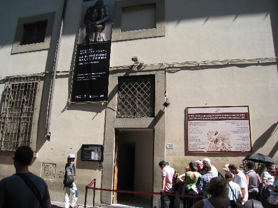 หอศิลป์อะคาเดเมีย: アカデミア美術館入口
