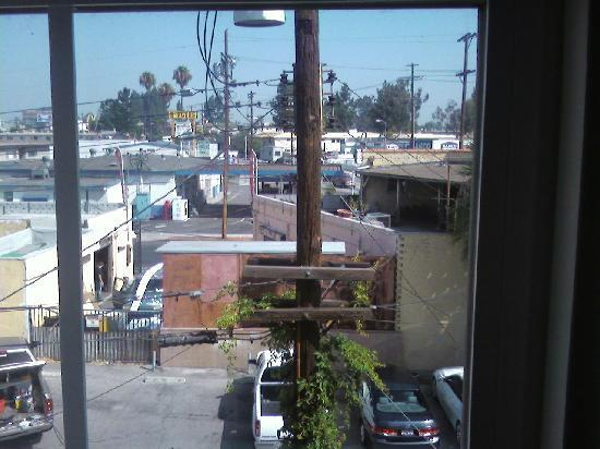 Comfort Inn & Suites Near Universal - N. Hollywood - Burbank: Room with a view?