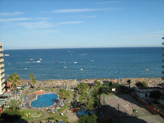 View from our room picture of sol timor by melia apartamentos torremolinos tripadvisor - Sol timor apartamentos torremolinos ...