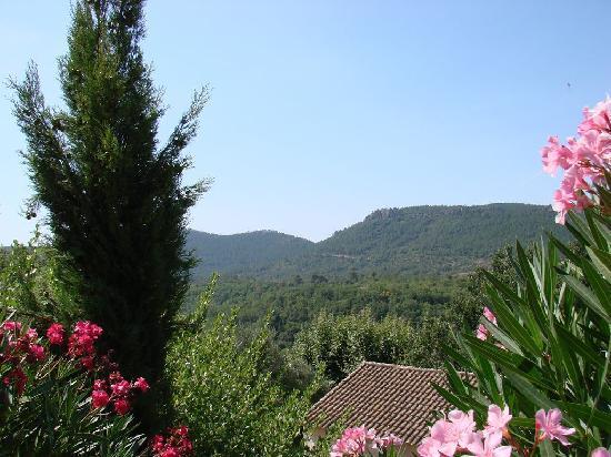 Bagnols-en-Foret, France: vue vallée Bagnols-en-Forêt